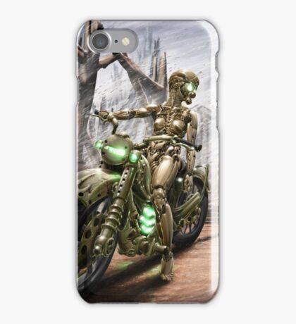 Cyberpunk Painting 023 iPhone Case/Skin