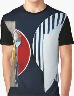 Comfort Food: Coffee & Slice Graphic T-Shirt