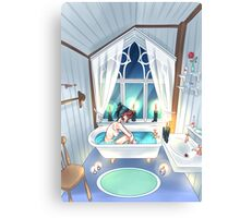 Bath Canvas Print
