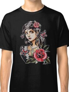 Butterfly Girl - tattoo Classic T-Shirt