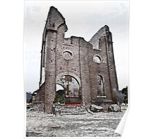 Lithgow Blast Furnace Ruins Poster