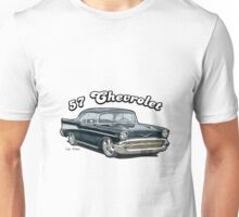 1957 Chevrolet Bel Air Design Unisex T-Shirt