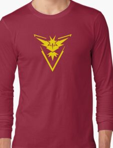 Pokemon GO: Team Instinct - Clean (Yellow Team) Long Sleeve T-Shirt