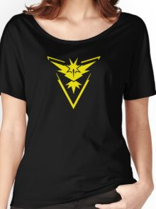 Pokemon GO: Team Instinct - Clean (Yellow Team) Women's Relaxed Fit T-Shirt