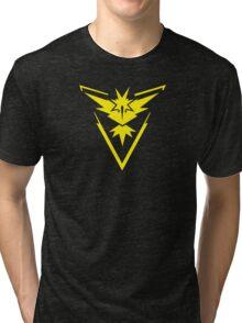 Pokemon GO: Team Instinct - Clean (Yellow Team) Tri-blend T-Shirt
