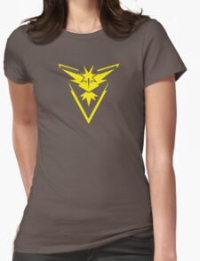 Pokemon GO: Team Instinct - Clean (Yellow Team) Womens Fitted T-Shirt