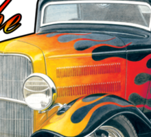 1932 Ford Hot Rod Design Sticker