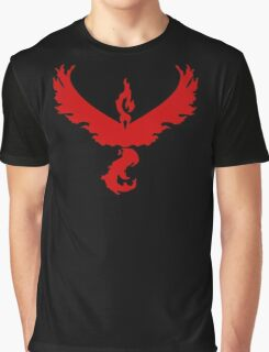 Pokemon GO: Team Valor - Clean (Red Team) Graphic T-Shirt