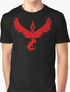 Pokemon GO: Team Valor - Clean (Red Team) Graphic T-Shirt