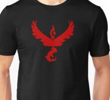 Pokemon GO: Team Valor - Clean (Red Team) Unisex T-Shirt