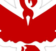 Pokemon GO: Team Valor - Clean (Red Team) Sticker
