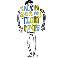 Tight pants - colour and black Photographic Print