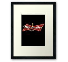 WHOWEISER Framed Print
