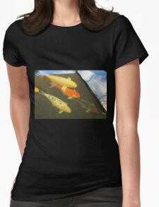 Water World Illusions Womens Fitted T-Shirt