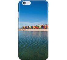 Colourful St James beach iPhone Case/Skin