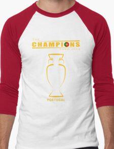 THE CHAMPIONS, PORTUGAL EURO Men's Baseball ¾ T-Shirt