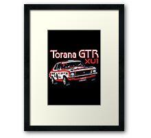Holden Torana GTR XU1 Peter Brock Framed Print