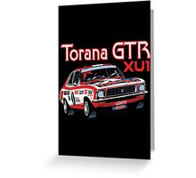 Holden Torana GTR XU1 Peter Brock Greeting Card