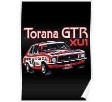 Holden Torana GTR XU1 Peter Brock Poster