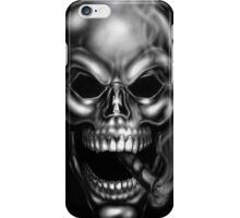 Smoking Skull  iPhone Case/Skin