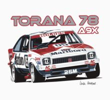 Holden A9X Torana, Peter Brock Design by UncleHenry
