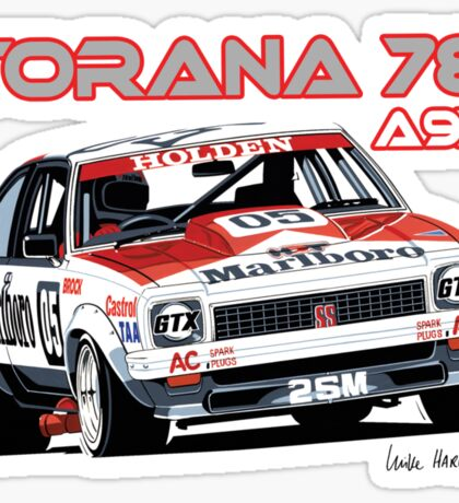 Holden A9X Torana, Peter Brock Design Sticker