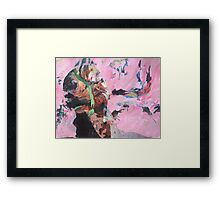 The unexplored music from within Framed Print