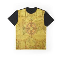 Vintage World Map Graphic T-Shirt