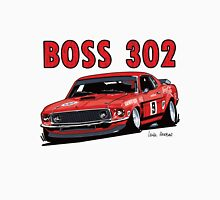 Ford 302 Boss Mustang Design Unisex T-Shirt