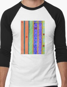 Modern Building Facade Men's Baseball ¾ T-Shirt