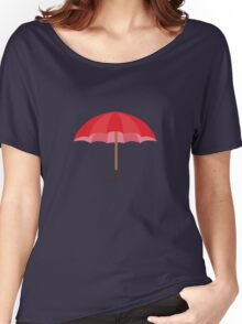 Red Umbrella Women's Relaxed Fit T-Shirt
