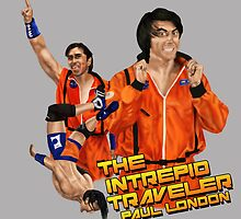 Paul London-The Intrepid Traveler by stevencraigart