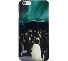 Southern lights iPhone Case/Skin