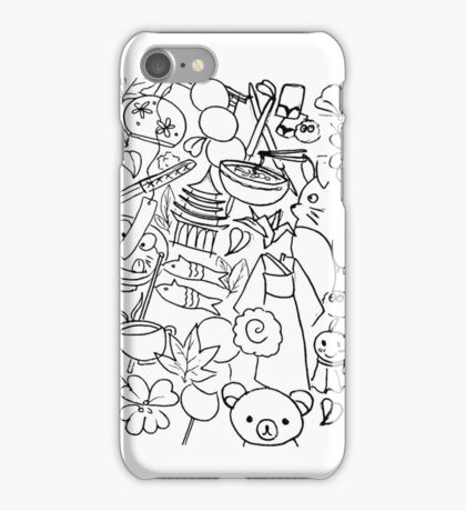 Japanese Sketch iPhone Case/Skin