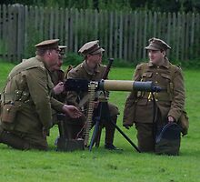Vickers Machine Gun Crew by HotThingPhotos