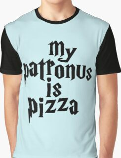 my patronus is a pizza Graphic T-Shirt