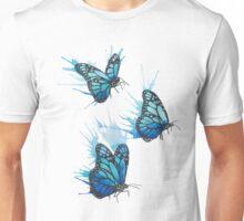 Watercolour Butterflies Unisex T-Shirt