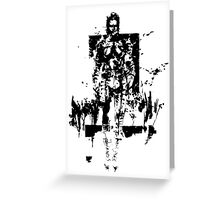 The Boss MGS3 Greeting Card