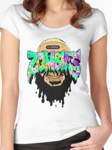flatbush zombies 4 Women's Fitted Scoop T-Shirt
