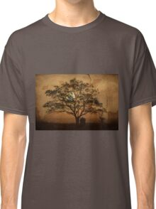 Landscape On Adobe Wall Classic T-Shirt