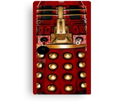 dalek graphic t shirt doctor who Canvas Print