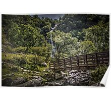Path to Aber Falls 2 Poster