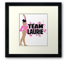 Team Laurie Hernandez - USA (Olympic)  Framed Print