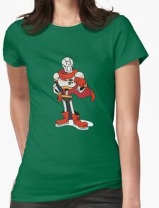 Undertale Design Papyrus Womens Fitted T-Shirt