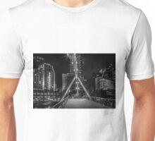 Pedestrian Bridge, Southbank in Melborne Unisex T-Shirt