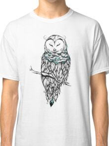 Poetic Snow Owl  Classic T-Shirt