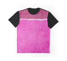 Dirty pink ripped paper Graphic T-Shirt