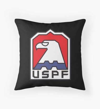 USPF - ESCAPE FROM NEW YORK Throw Pillow