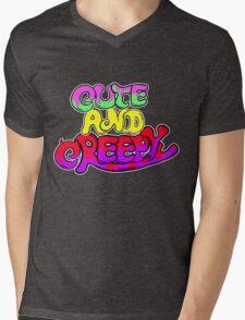 Cute and Creepy Mens V-Neck T-Shirt