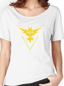 Team Instinct - Yellow - Zapdos Women's Relaxed Fit T-Shirt